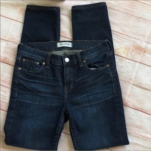 EUC Madewell Alley Straight Jeans